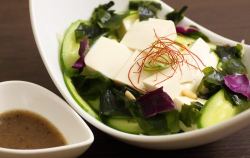 豆腐チョレギサラダ